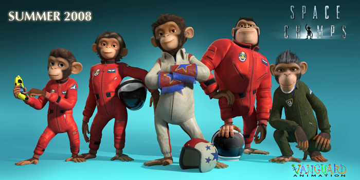 Space Chimps video game picture
