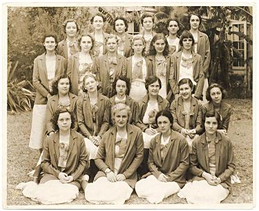 Some of the Brownstone wives, at a reunion in Toledo