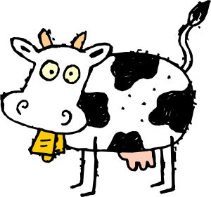 "Une stupid vache *look up ""stupid"""