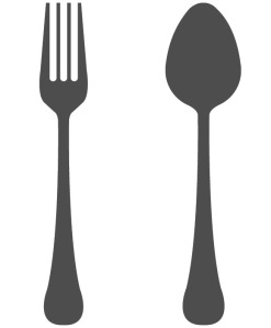 Oh, that's a fork, along with that other thing