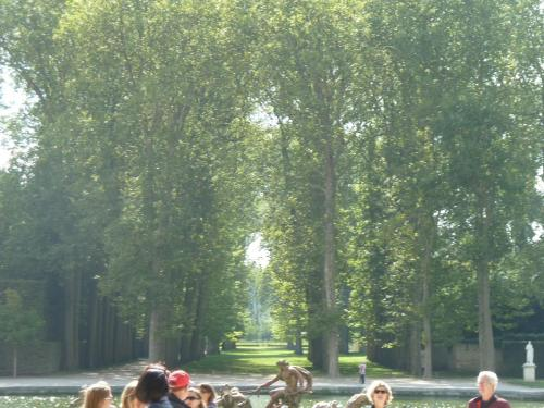 And this...this might be at Versailles too