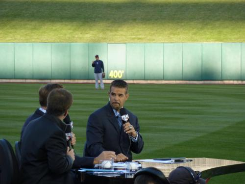 2007 World Series MVP Mike Lowell, now a talking head for the MLB Network